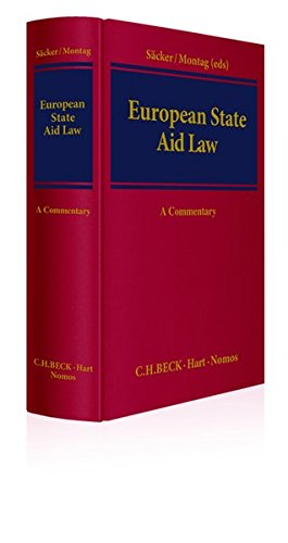9783832973896: European State Aid Law: A Commentary