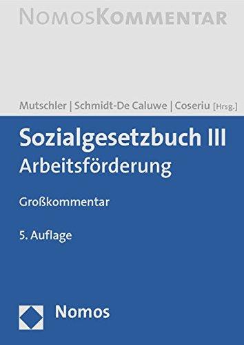 9783832974602: Sozialgesetzbuch III: Arbeitsförderung