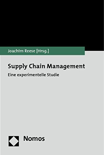 9783832975944: Supply Chain Management: Eine experimentelle Studie