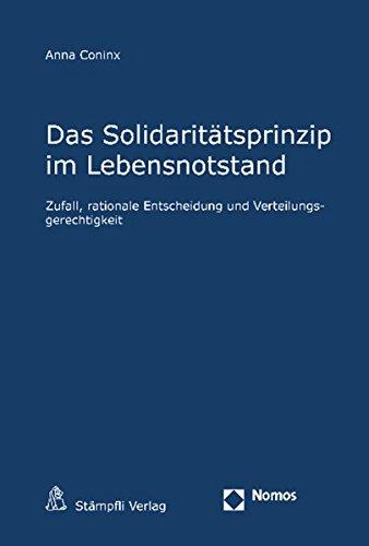 Das Solidaritätsprinzip im Lebensnotstand: Anna Coninx