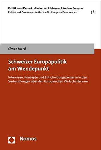 Schweizer Europapolitik am Wendepunkt: Simon Marti