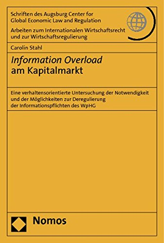 Information Overload am Kapitalmarkt: Carolin Stahl