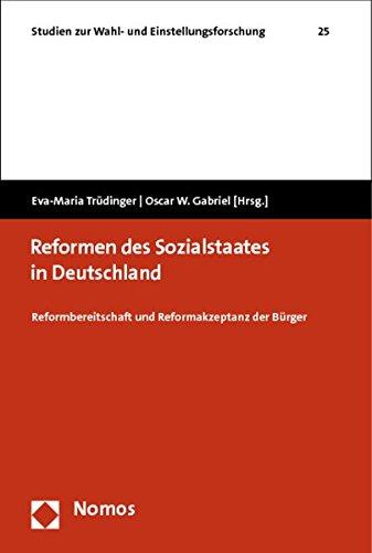 9783832978600: Reformen des Sozialstaates in Deutschland: Reformbereitschaft und Reformakzeptanz der Bürger