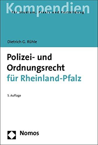 9783832979669: Polizei- Und Ordnungsrecht Fur Rheinland-pfalz (Recht - Kompendien)