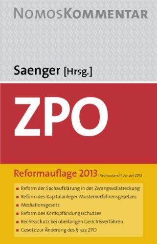 9783832979973: Zivilprozessordnung: FamFG - Europäisches Verfahrensrecht