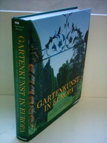 9783833110443: Gartenkunst in Europa
