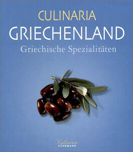 9783833110511: Culinaria Griekenland: Griekse Specialiteiten