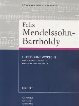 Lieder Ohne Worte II, Song Without Words: MENDELSSOHN(113413)