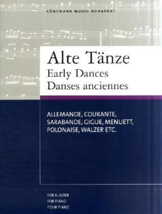 9783833113505: Early Dances= Alte Tänze