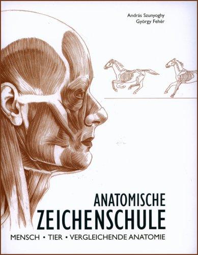 9783833121371: Anatomische Zeichenschule: Mensch. Tier. Vergleichende Anatomie