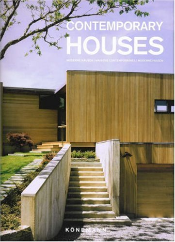 9783833124945: Contemporary Houses