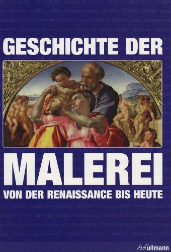 9783833143618: Geschichte der Malerei von der Renaissance bis heute