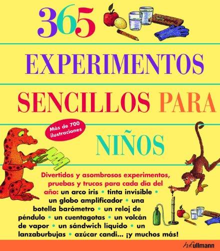 9783833146541: 365 EXPERIMENTOS SENCILLOS PARA NIÃ'OS