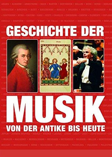 9783833148354: Geschichte der Musik: von der Antike bis zur Gegenwart