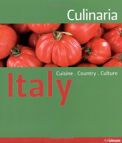 9783833151187: Culinaria Italy (Relaunch): Country. Cuisine. Culture.