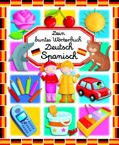 9783833158780: Dein buntes Wörterbuch Deutsch - Spanisch