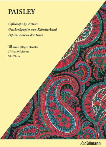 9783833163265: GIFTWRAP PAPER - PAISLEY (Giftwraps by Artists)