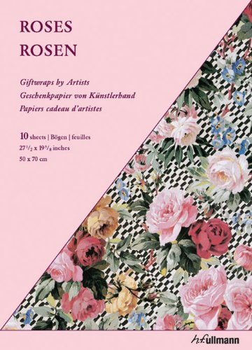 9783833163272: GIFTWRAP PAPER - ROSES (Giftwraps by Artists)
