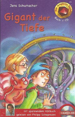 9783833170140: Gigant der Tiefe - mit Hörbuch (1 CD) (Der magische Stein)