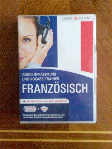 9783833196805: Französisch Audio Sprachkurs- mit allen Texten zum nach und mitlesen 4 audio + 1 mp3 und Vokabeltrainer