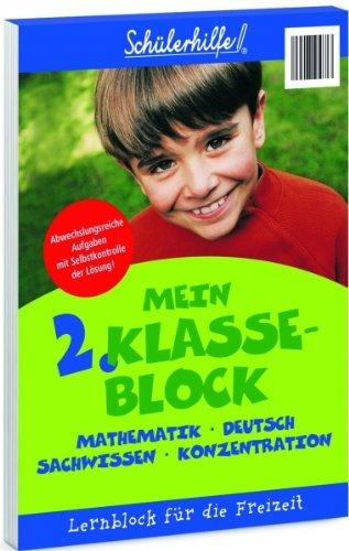 9783833198496: Lernblock Mein 2. Klasse-Block