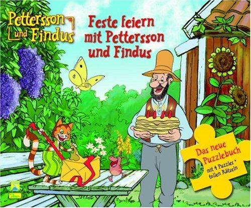 9783833214790: Pettersson und Findus. Puzzlebuch 04: Feste feiern mit Pettersson und Findus