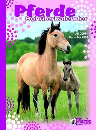 9783833216008: Pferde - Schülerkalender 2007/2007