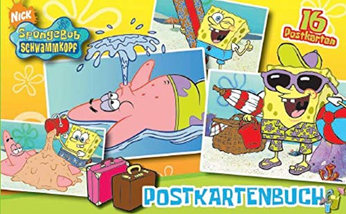 9783833217159: SpongeBob Schwammkopf Postkartenbuch. 16 Postkarten