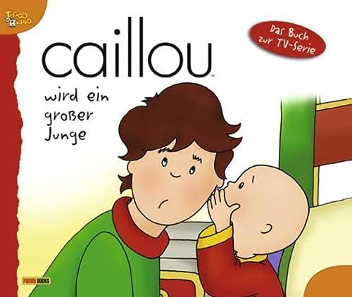 Caillou wird ein großer Junge. Geschichtenbuch 06: Caillou wird ein großer Junge: ...