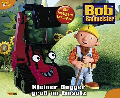 9783833218323: Bob der Baumeister, Geschichtenbuch, Band 43: Kleiner Bagger groß im Einsatz