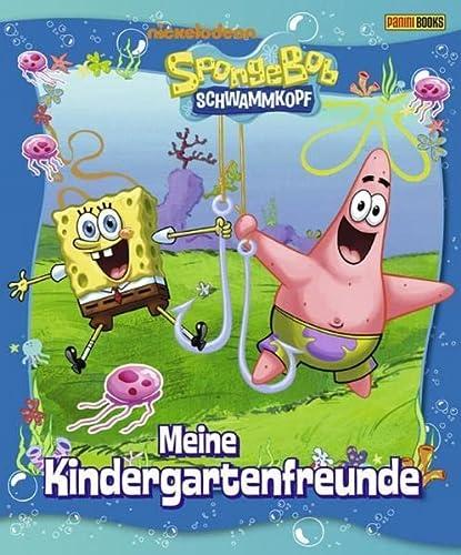 9783833221415: SpongeBob Schwammkopf Kindergartenfreundebuch: Meine Kindergartenfreunde