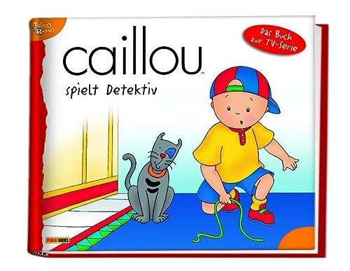 9783833221682: Caillou Geschichtenbuch 14: Caillou spielt Detektiv