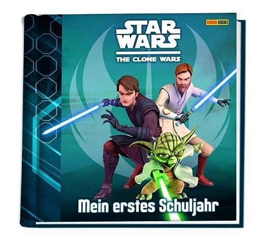 9783833225758: Star Wars The Clone Wars Schulstartalbum