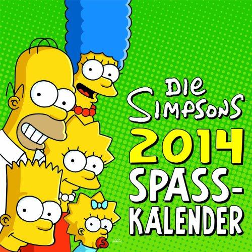 9783833225819: Die Simpsons Wandkalender 2014