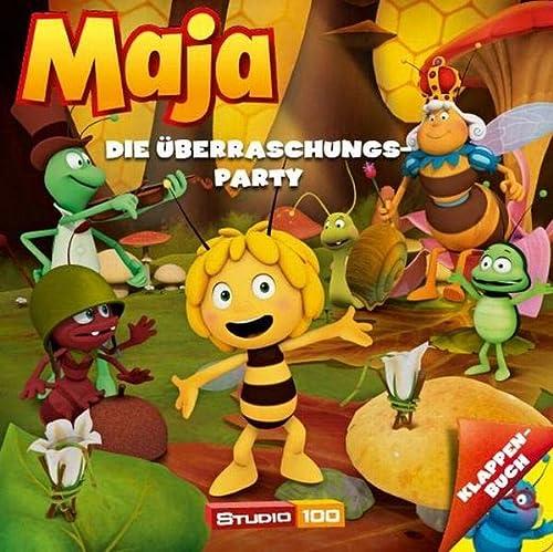 9783833226571: Die Biene Maja Klappenbuch 02. Die Überraschungsparty