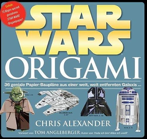 9783833226960: STAR WARS Origami : 36 geniale Papier-Baupläne aus einer weit, weit entfernten Galaxis.