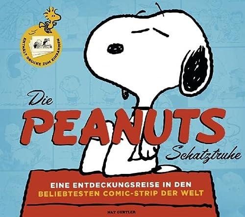 9783833226991: Die Peanuts-Schatztruhe: Eine Entdeckungsreise in den beliebtesten Comic-Strip der Welt