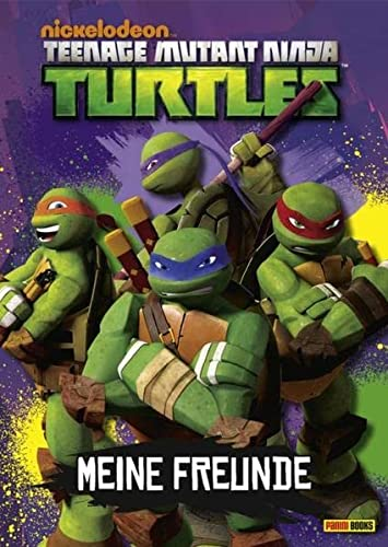 9783833227400: Teenage Mutant Ninja Turtles Freundebuch: Meine Freunde