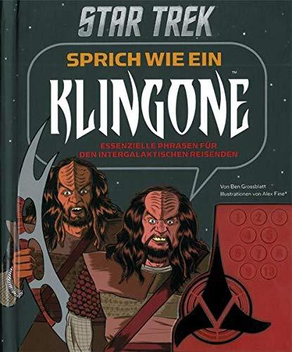9783833227639: Star Trek - Sprich wie ein Klingone, Buch mit Soundkonsole: Essenzielle Phrasen f�r den intergalaktischen Reisenden