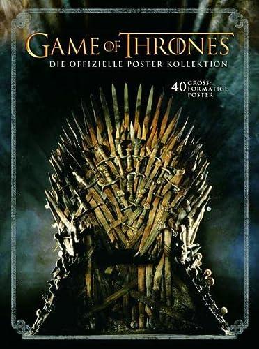 9783833228278: Game of Thrones - Die offizielle Poster-Kollektion