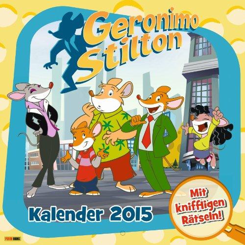 9783833228797: Geronimo Stilton Wandkalender 2015