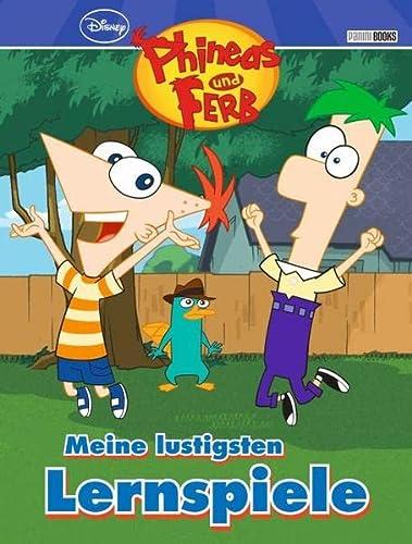 9783833229213: Disney Phineas und Ferb Grundschulblock: Meine lustigsten Lernspiele