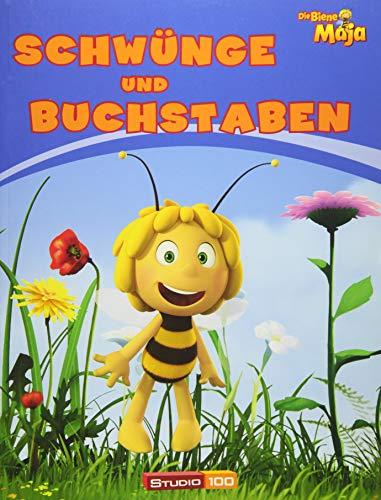 9783833230806: Die Biene Maja - Schwünge und Buchstaben