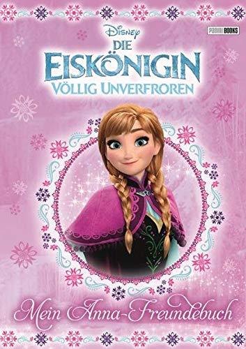 9783833231339: Disney Die Eiskönigin: Mein Anna-Freundebuch