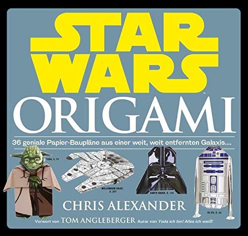 9783833235320: Star Wars: Origami (NEUAUFLAGE): 36 geniale Papier-Baupläne aus einer weit, weit entfernten Galaxis