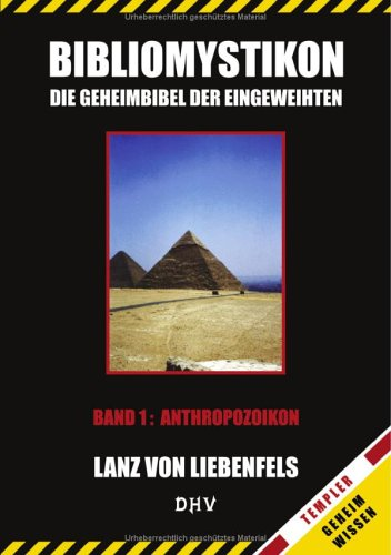 9783833403088: Bibliomystikon Band 1. Anthropozoikon.