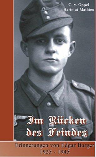 9783833404429: Im Rücken des Feindes: Erinnerungen von Edgar Burger 1925 - 1945