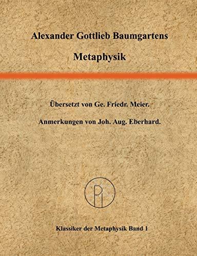 9783833406591: Metaphysik (German Edition)