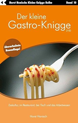 9783833413094: Der Kleine Gastro-Knigge 2100