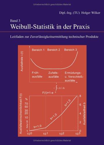 9783833413179: Weibull-Statistik in der Praxis: Leitfaden zur Zuverlässigkeitsermittlung technischer Produkte